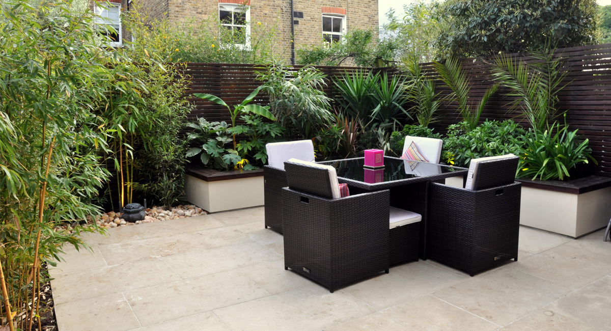 Garden designers and landscapers in london bamboo for Garden designs images pictures